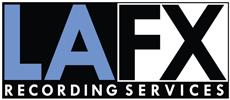 LAFX Recording services - Logo
